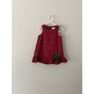 Rare Editions Holiday Dress Baby 12 Month Red